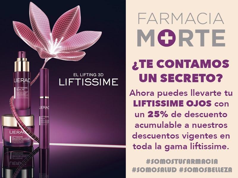 Promoción Lierac Liftissime