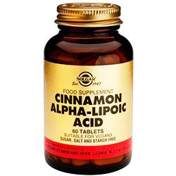 Ácido alpha lipoico para sustituir el azúcar